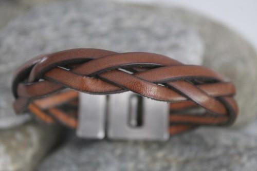 Lederen Armbanden