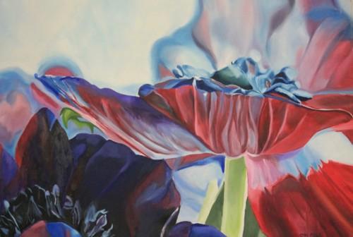 Schilderij bloem 1