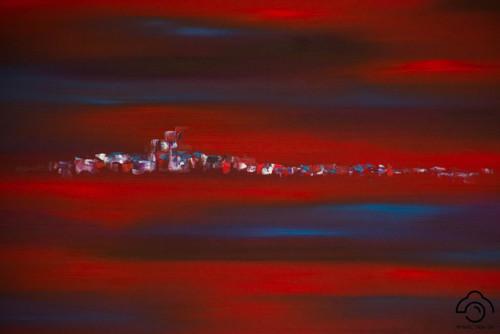 Schilderij Gloed