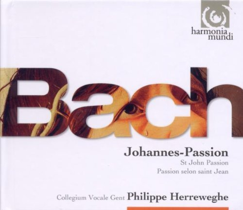 Bach / Collegium Vocale / Philippe Herreweghe - Johannes-Passion - 3CD (CD)