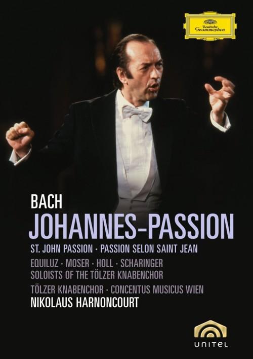 Bach / Concentus Musicus / Harnoncourt - Johannes-Passion (DVD)