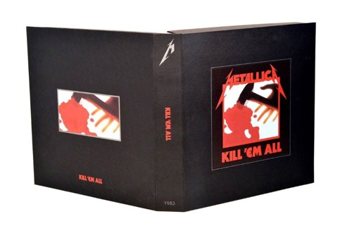 Metallica - Kill Em All - Limited Remastered Deluxe Box set (CD)