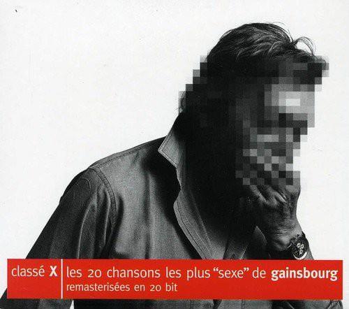 Serge Gainsbourg - Classé X (CD)