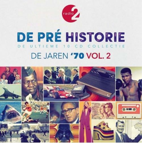 Various - De Pre Historie - De Jaren 70 Volume 2 - Box set (CD)