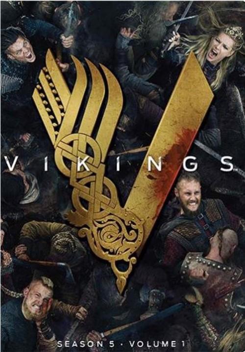 TV-Serie - Vikings S5.1 (Bluray)