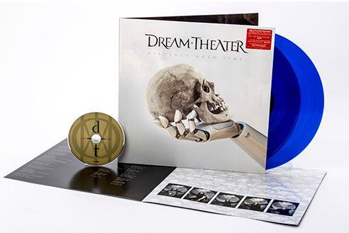 Dream Theater - Distance Over Time (Blue Transparent) 2LP+CD (LP)