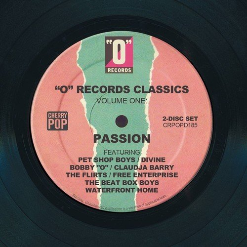 """Various - """"O"""" Records Classics Volume One: Passion - 2CD"""