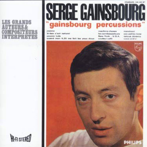 Serge Gainsbourg - Gainsbourg Percussions (CD)