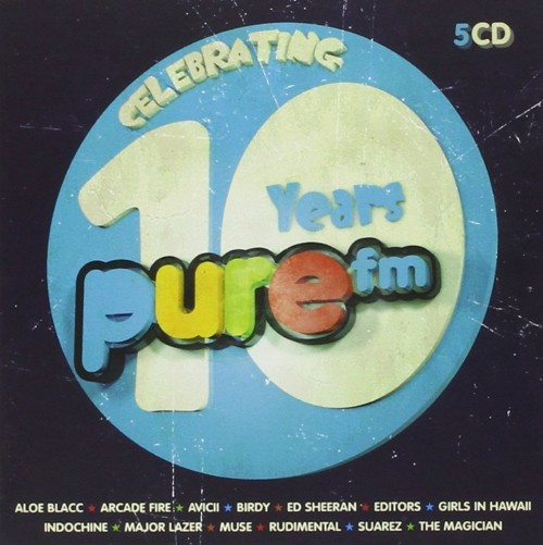 Various - 10 Years Pure FM - Box set  (CD)