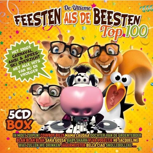 Various - Feesten Als De Beesten 2019 - 5CD (CD)
