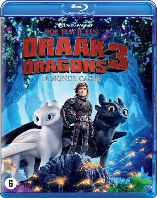 Animation - How To Train Your Dragon 3 / Hoe Tem Je Een Draak 3 (Bluray)