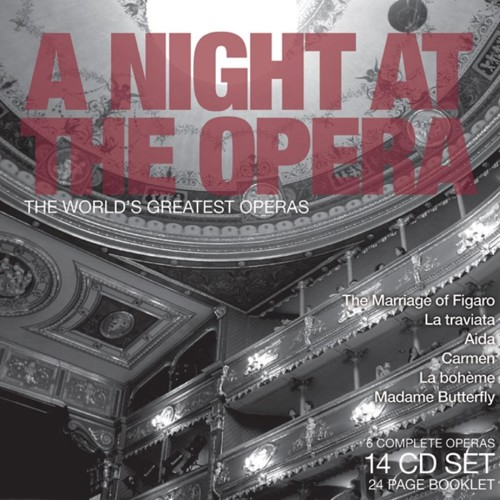 Various -  A Night At The Opera: The World's Greatest Operas - Box set (CD)