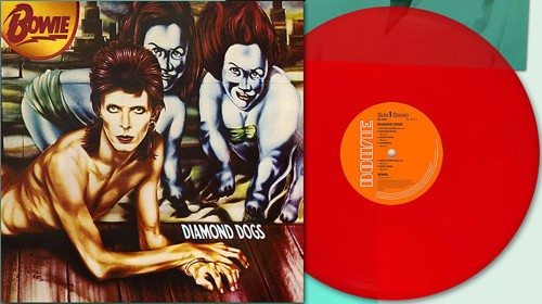 David Bowie - Diamond Dogs (45th Anniversary Red Vinyl) - Indie Only (LP)