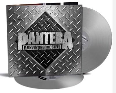 Pantera - Reinventing The Steel - (20th Anniversary silver vinyl) - 2LP (LP)
