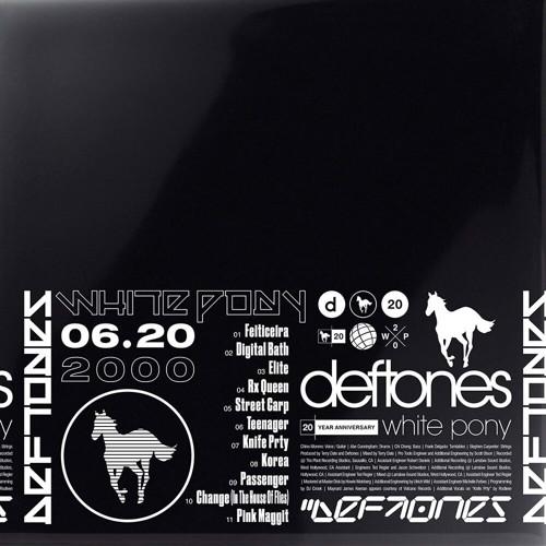 Deftones - White Pony - 20th Anniversary (Coloured vinyl) - Indie Only - 4LP (LP)