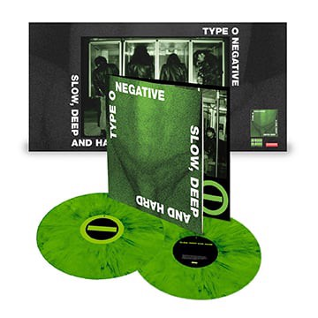 Type O Negative - Slow, Deep And Hard (Green Vinyl / Indie Only) - 2LP (LP)