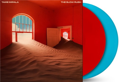 Tame Impala - The Slow Rush (Red&Blue Vinyl - Indie Only) - 2LP (LP)