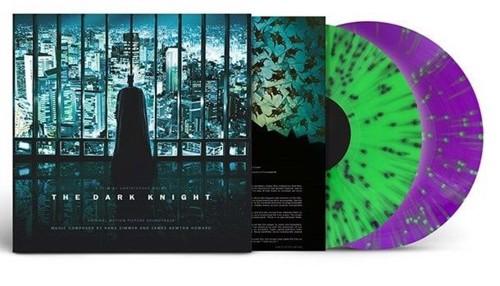 Hans Zimmer / James Newton Howard - The Dark Knight (Original Motion Picture Soundtrack) Neon green & violet vinyl - 2LP (LP)