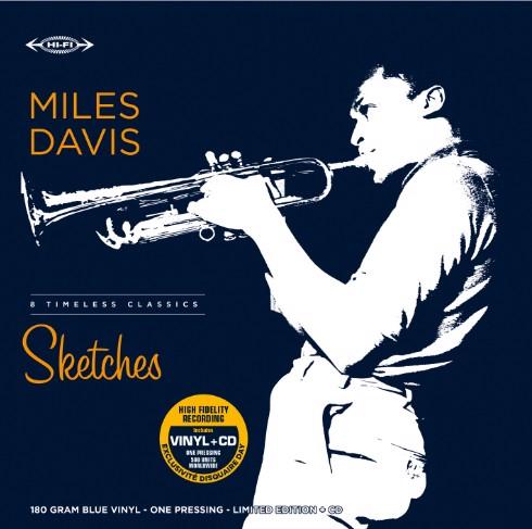 Miles Davis - Sketches (Blue vinyl) - RSD21 - LP+CD (LP)