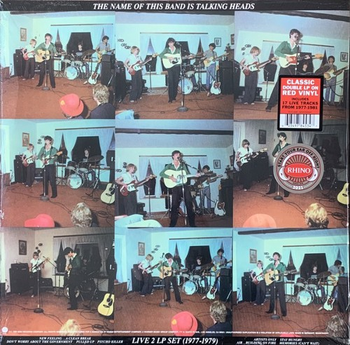 Talking Heads - The Name Of This Band Is Talking Heads - Indie Only Red vinyl - 2LP (LP)