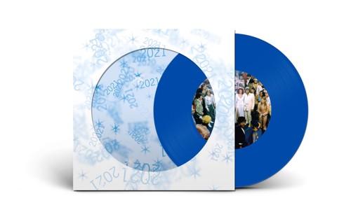 Abba - Happy New Year 2021 (Blue Vinyl) (SV)