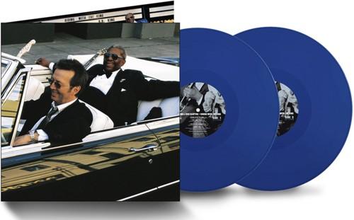 Eric Clapton & B.B. King - Riding With The King (20th anniversary blue vinyl) - 2LP (LP)