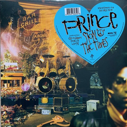Prince - Sign O' The Times (Peach Coloured Vinyl) - 2LP