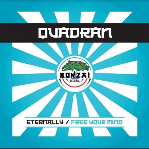 Quadran - Eternally / Free Your Mind - Bonzai (Blue Vinyl) (SV)