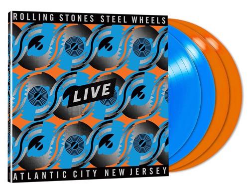 The Rolling Stones - Steel Wheels Live (Coloured Vinyl) - 4LP (LP)