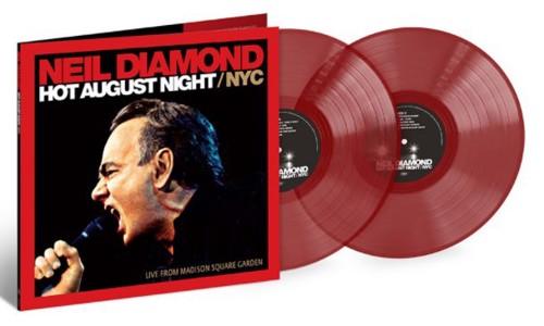 Neil Diamond - Hot August Night NYC (Red Vinyl) - 2LP (LP)