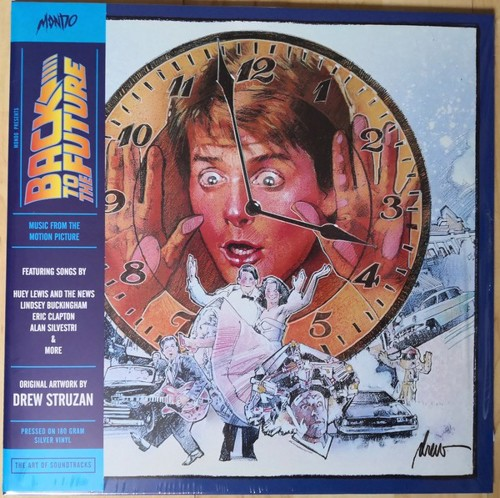 Various -  Back To The Future (Music From The Motion Picture Soundtrack) - Silver vinyl (LP)