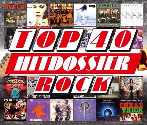 Various - Top 40 Hitdossier - Rock - 4CD (CD)