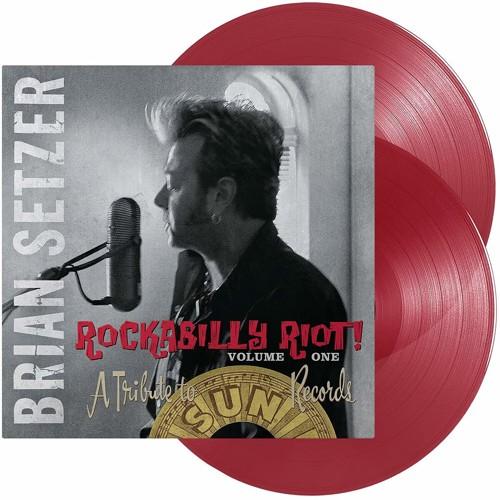 Brian Setzer - Rockabilly Riot! Volume One - A Tribute To Sun Records (Red vinyl) - 2LP (LP)