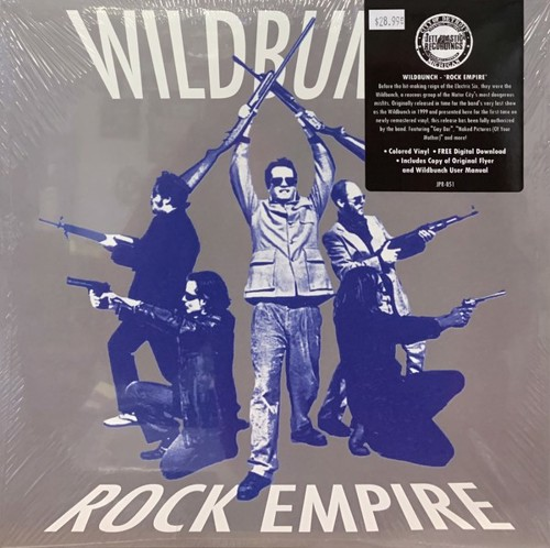 The Wildbunch - Rock Empire (Blue vinyl) - Record Store Day 2020 / RSD20 Oct (LP)