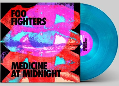 Foo Fighters - Medicine At Midnight (Blue Vinyl Indie Only) (LP)