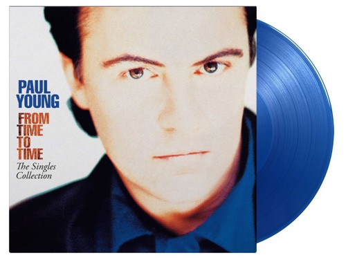 Paul Young - From Time To Time: The Singles Collection (Blue Vinyl) - 2LP (LP)