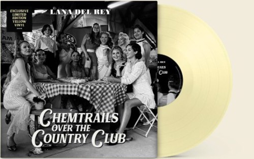 Lana Del Rey - Chemtrails Over The Country Club (Yellow Vinyl) - Indie Only (LP)