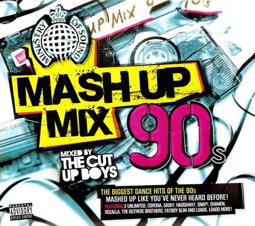 Varioius - Mash Up Mix 90s (CD)