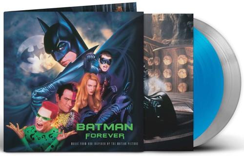 Various - Batman Forever (Original Music From The Motion Picture) - Blue & silver vinyl - 2LP (LP)
