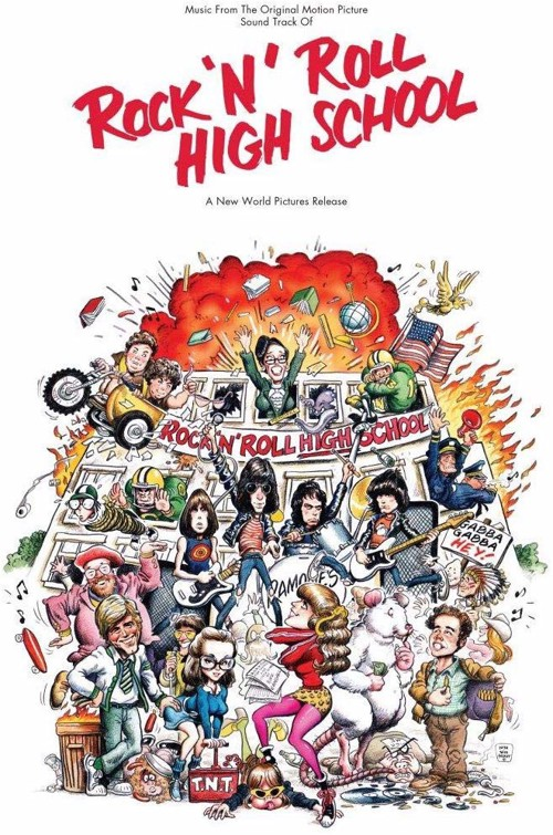 *         Various / Ramones - Rock 'N' Roll High School (Music From The Original Motion Picture Soundtrack) - Coloured vinyl (LP)