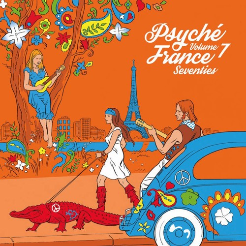Various - Psyché France Seventies Volume 7 - RSD21 (LP)