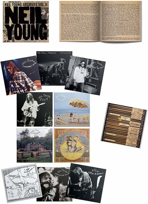Neil Young - Archives Volume II 1972-1976 (10CD Box set)