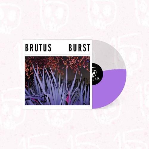 Brutus - Burst (Half & Half Crystal Clear & Lilac) (LP)
