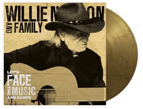 Willie Nelson & Family - Let's Face The Music And Dance (Black & gold marbled vinyl) (LP)