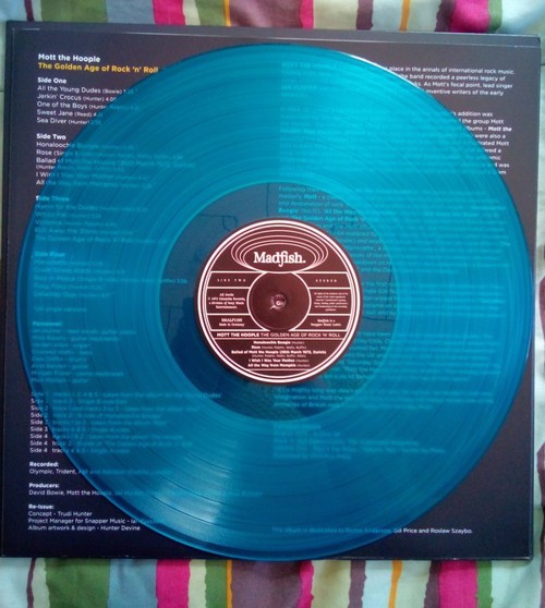 Mott The Hoople - The Golden Age Of Rock 'N' Roll (Blue vinyl) - Record Store Day 2020 / RSD20 Oct - 2LP (LP)