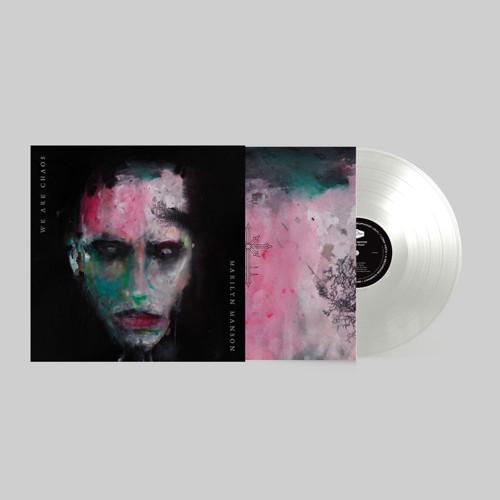 *    Marilyn Manson - We Are Chaos (White Vinyl + Poster) (LP)