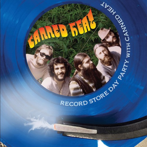 Canned Heat - Canned Heat Record Store Day Party With Canned Heat (Blue vinyl) - Record Store Day 2020 / RSD20 Sep (LP)