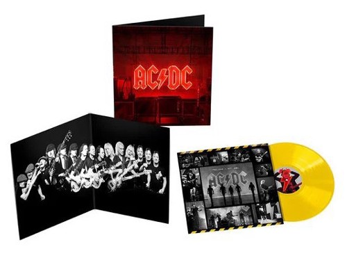AC / DC - Power Up (Yellow vinyl Indie Only) (LP)