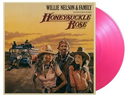 Willie Nelson - Honeysuckle Rose (Rose coloured vinyl) - 2LP (LP)