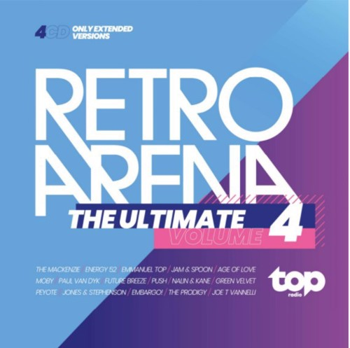 Various - Topradio - The Ultimate Retro Arena - Volume 4 - 4CD (CD)